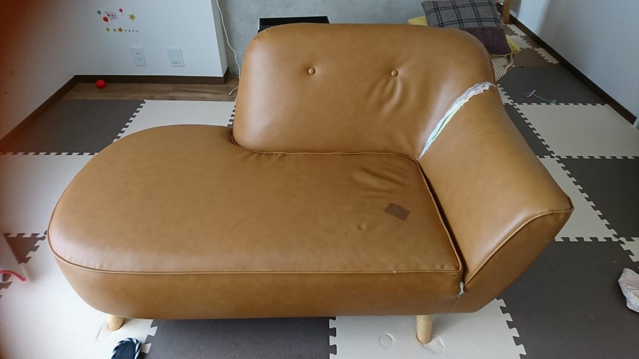 東京都小金井市でソファーを回収