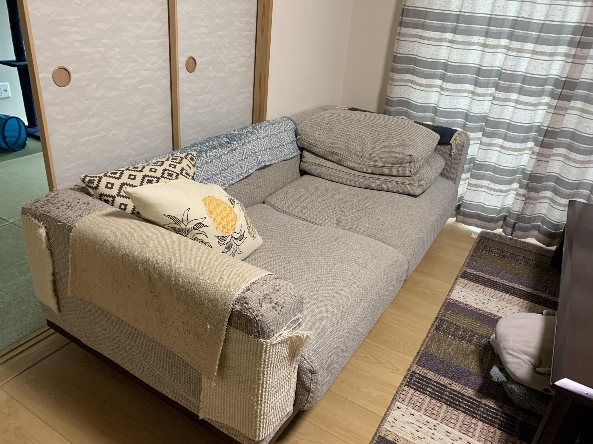 神奈川県横浜市でソファーを回収しました
