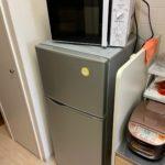 横浜市中区で冷蔵庫と電子レンジを回収しました