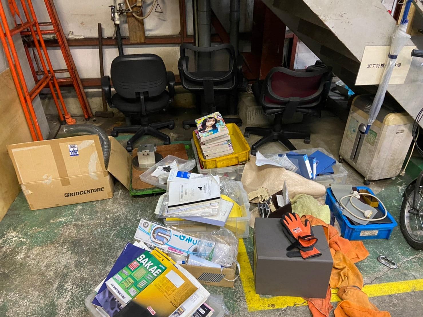 横浜市の工場が倒産による不用品回収